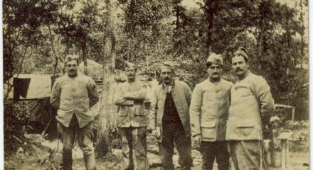 Artilleurs français - 1916