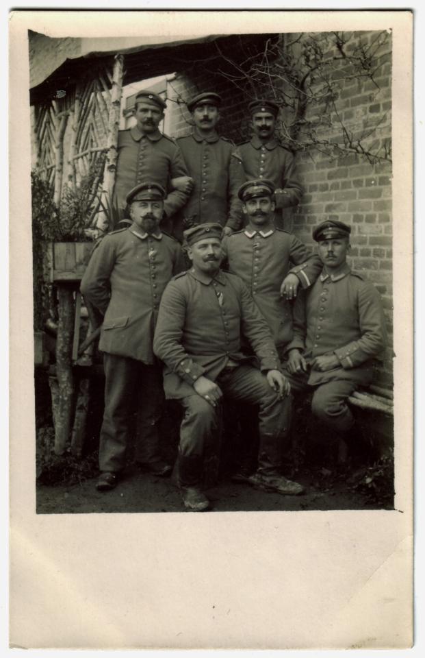 Grandham - soldats de la 12ème Compagnie du L.I.R. 118