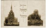 Servon - l'église en 1914 et 1915