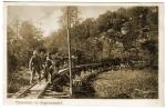 Argonnenbahn - wagonnets tractés par les hommes