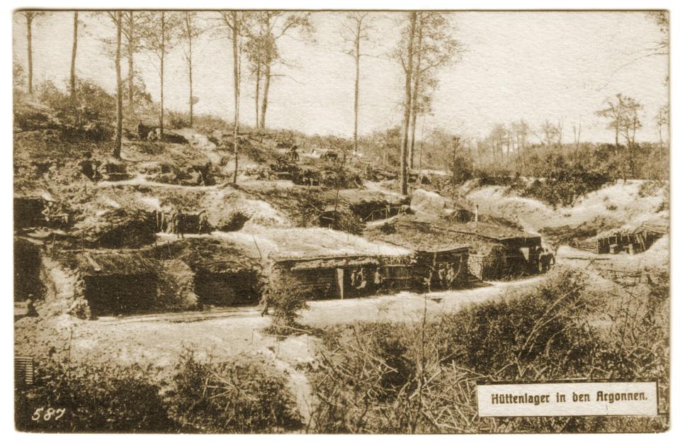 Camp allemand en Argonne
