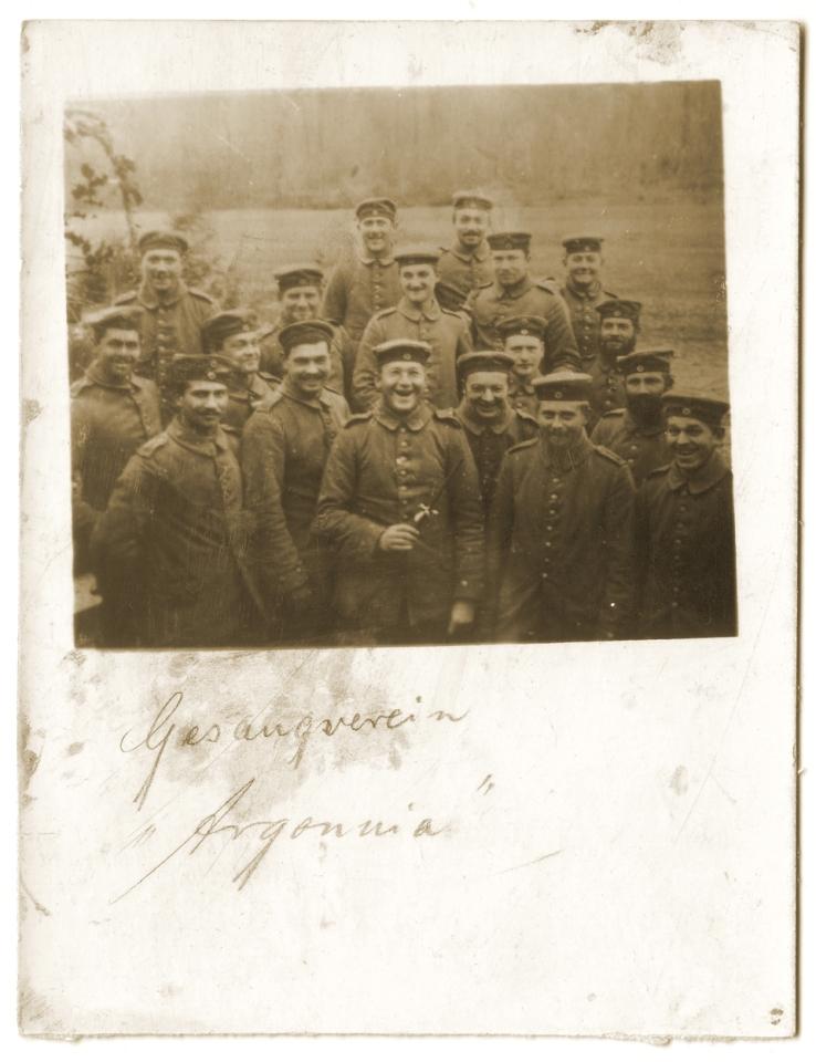 Chorale allemande en 1915