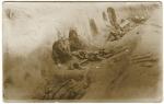 Une position ennemie prise par les américains pendant l'offensive Meuse-Argonne