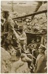 Soldats allemands au créneau