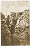 Officiers allemands dans la tranchée pendant l'été 1915