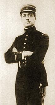 Le Lieutenant Pierre Monnier du 46ème Régiment d'Infanterie, tué au ravin des Meurissons le 8 janvier 1915