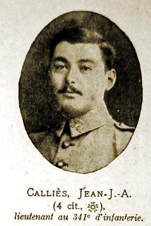Le Lieutenant Calliès