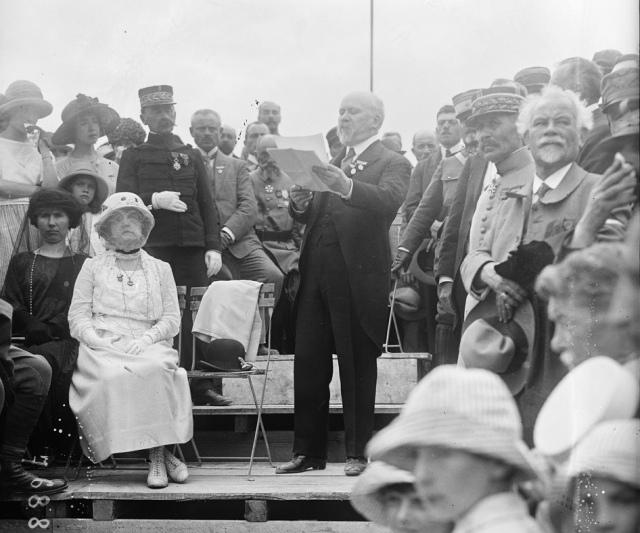 Le discours de Poincaré à la Haute-Chevauchée le 31 juillet 1922